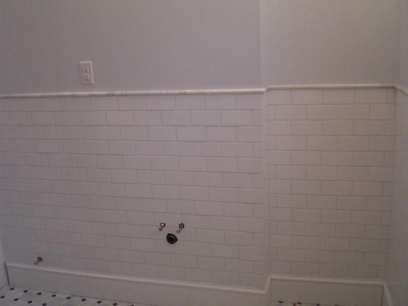 Tiled bathroom 1