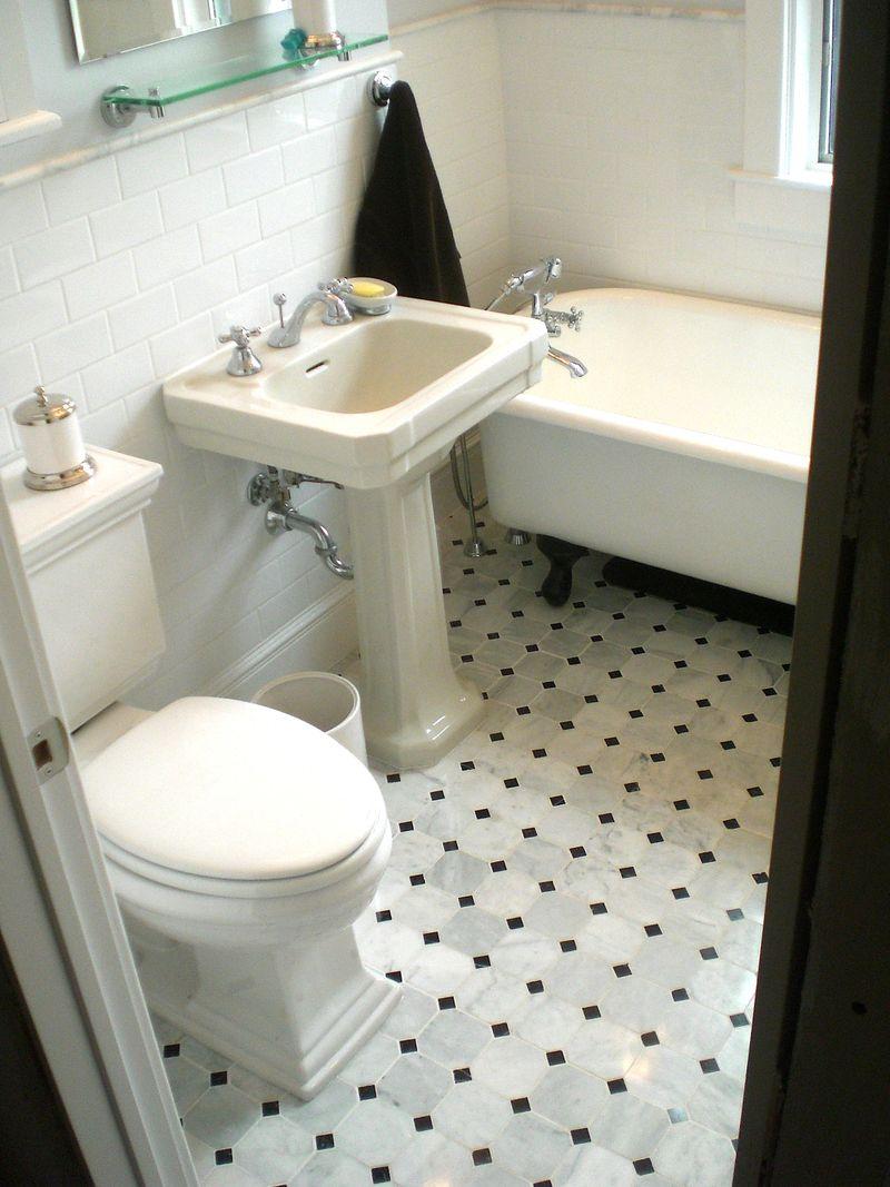 Finished bathroom 1